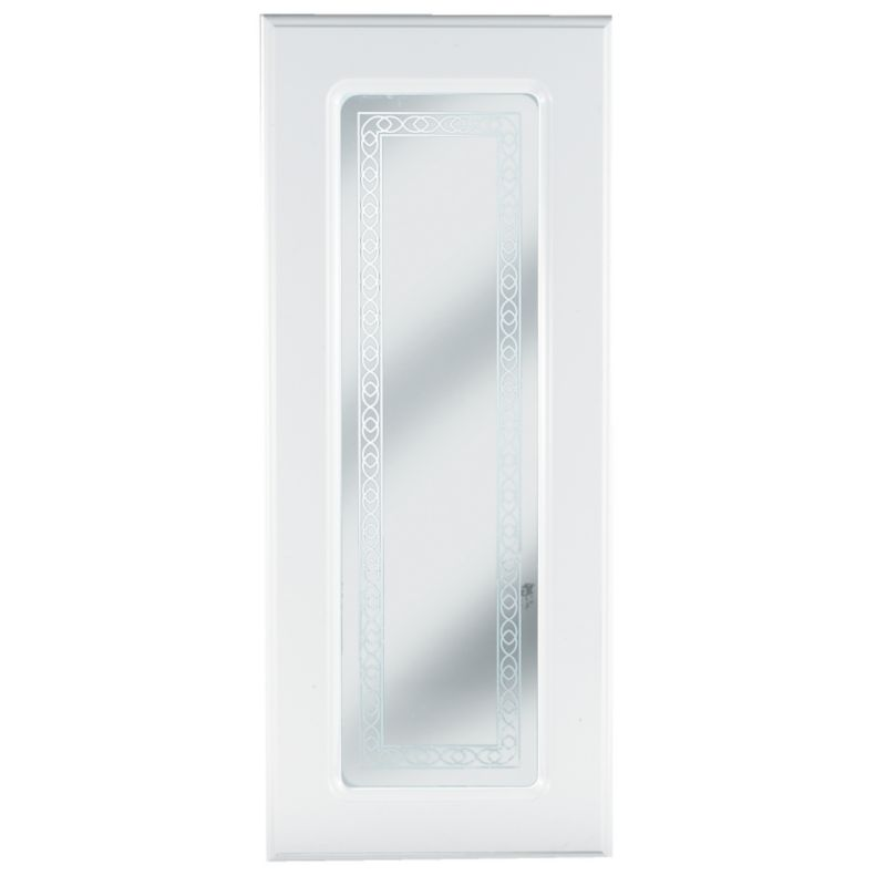 Gloss White Pack F Glazed Door 300mm - CLICK FOR MORE INFORMATION