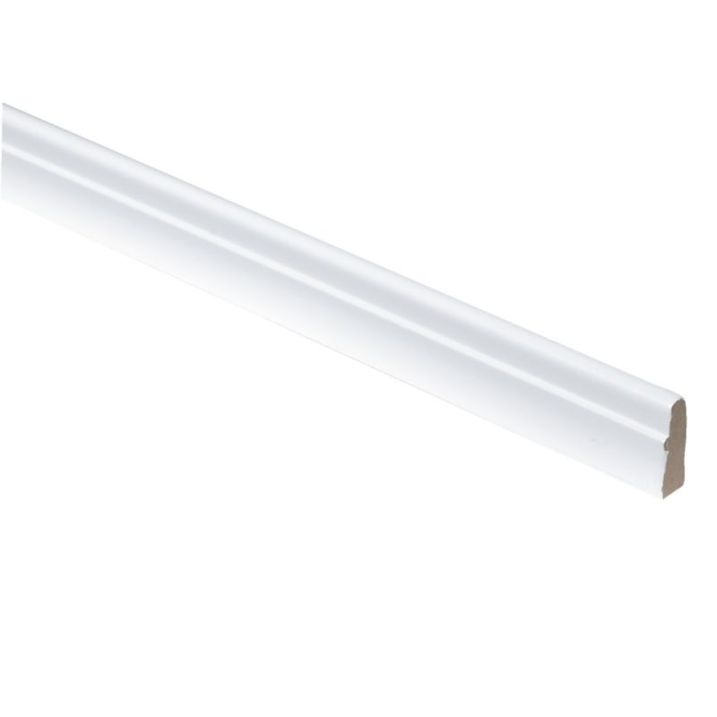 Gloss White Pelmet 2400mm - CLICK FOR MORE INFORMATION
