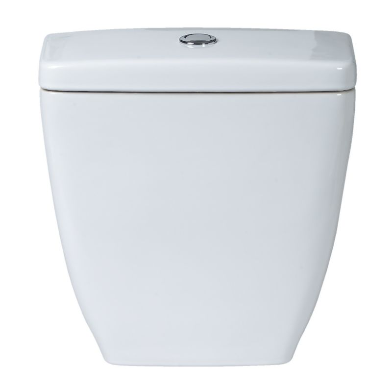Barcelona Close-Coupled Cistern White