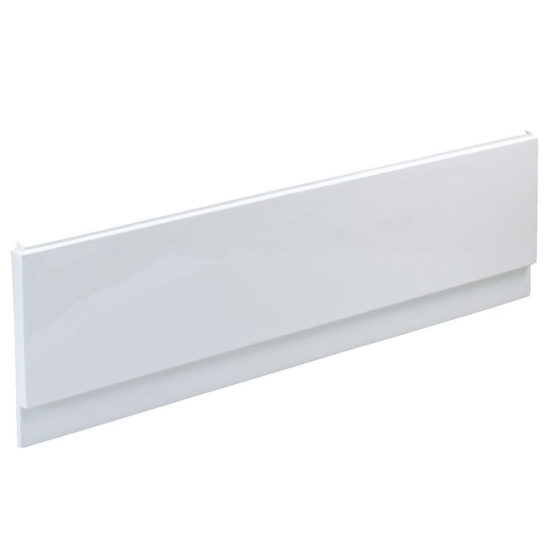 Barcelona Straight Bath Front Panel White (L)1700mm
