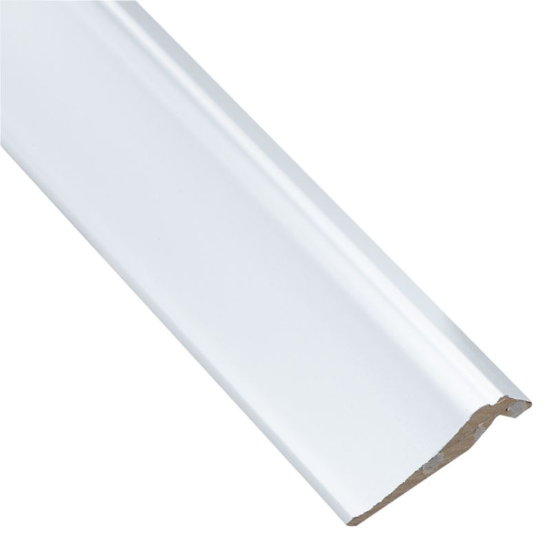 White Country Style Cornice 2400mm - CLICK FOR MORE INFORMATION
