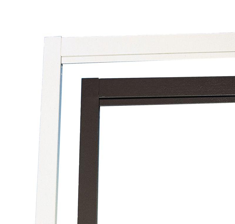 Door Frame Retractable White (H)1.98 x (W)2.13m