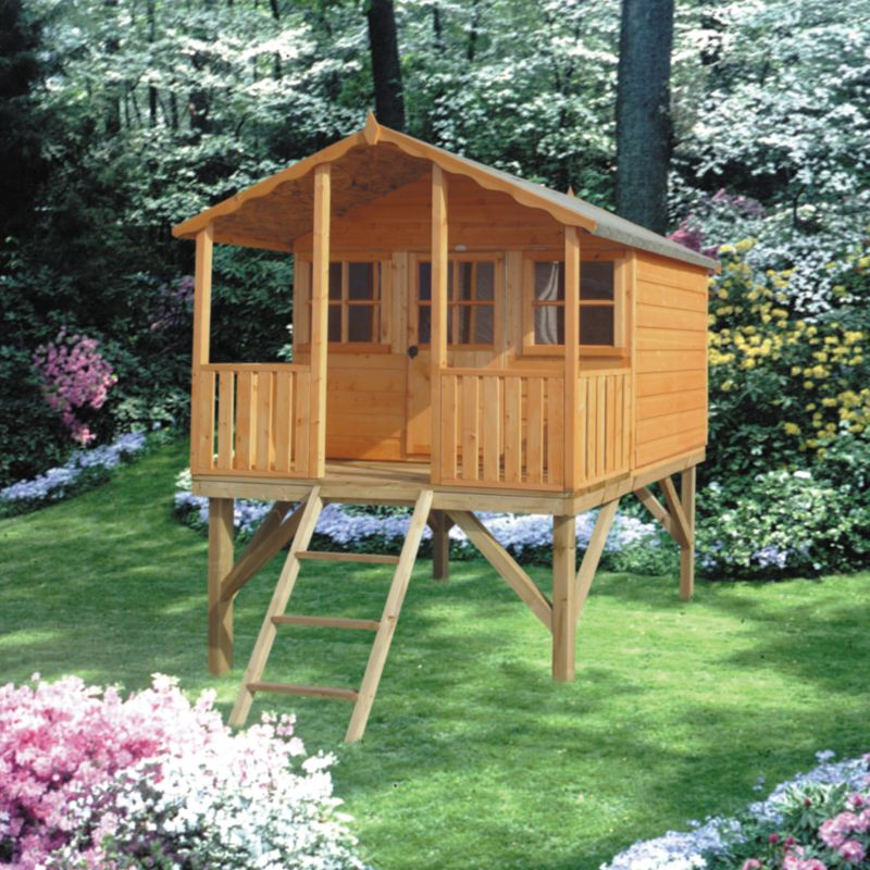 Stork Playhouse With Verandah