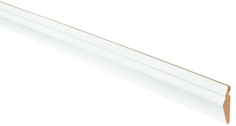 Gloss White Slab Cornice 2400mm - CLICK FOR MORE INFORMATION