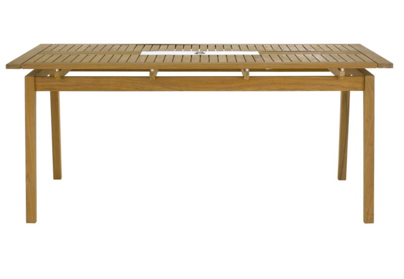 Docklands 6 Seater Table Made From FSC Bolivian Teak And Stainless Steel MBMF07INO005