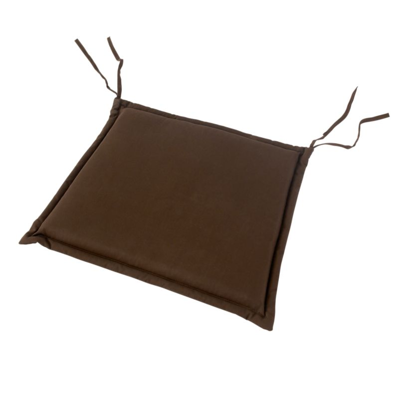 Peninsula Carver Chair Cushion Chocolate