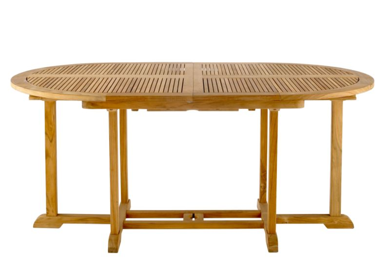 Cleveland Oval Extending Dining Table KF/T2 Teak