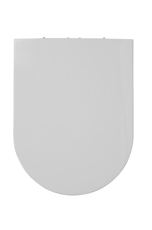 Select Curve Toilet Seat White/Chrome Effect