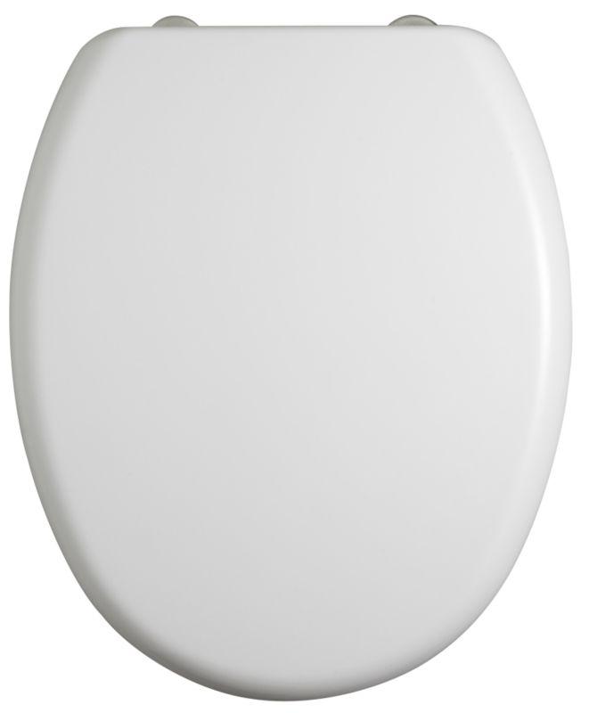 Chamonix Toilet Seat White