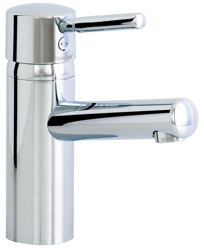 Zone 300 Series Basin Mixer Tap Chrome Effect