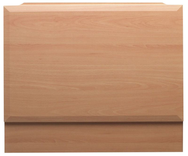 Bath End Panel Beech Effect (W)700mm