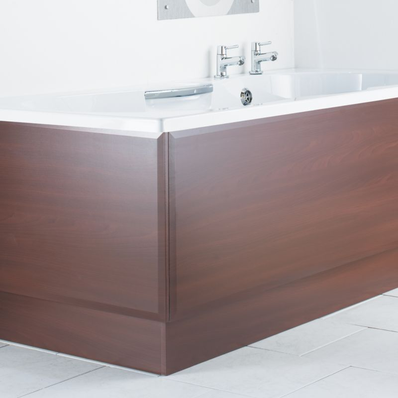 Bath End Panel Hickory Effect (W)700mm