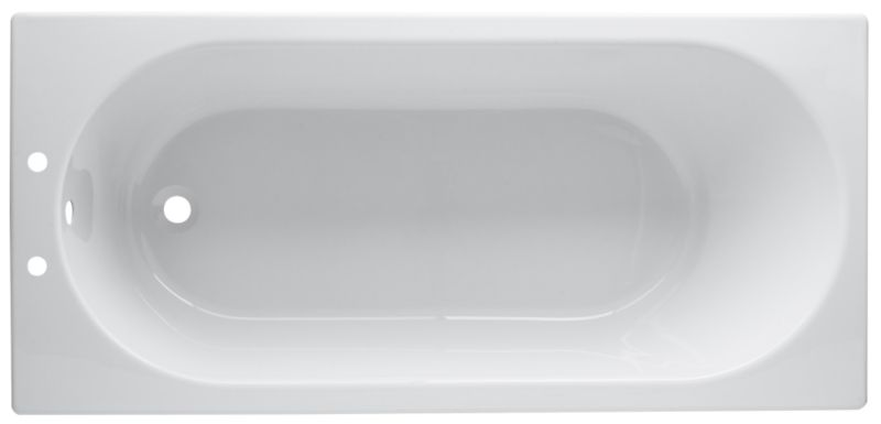 Barcelona Petite Acrylic Bath White