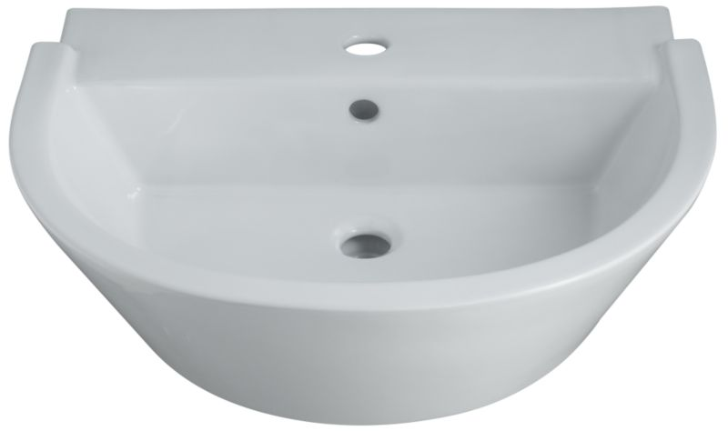Select Rossini Basin White (W)610 x (L)480mm