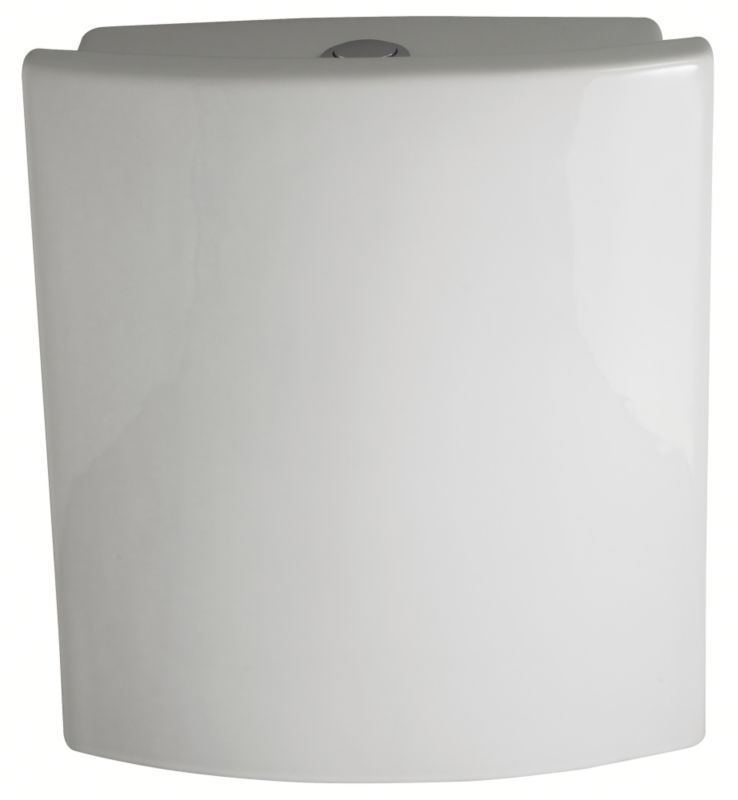 Rossini Close-Coupled Cistern Including Fittings White