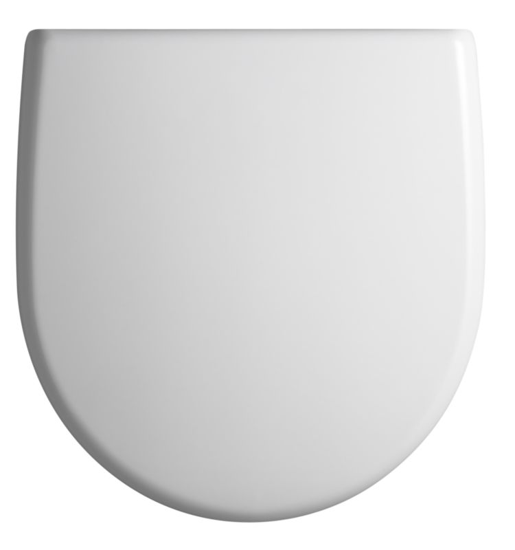 Space Toilet Seat White