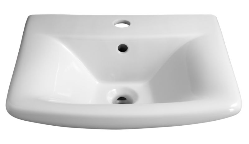 Seattle Cloakroom Basin White