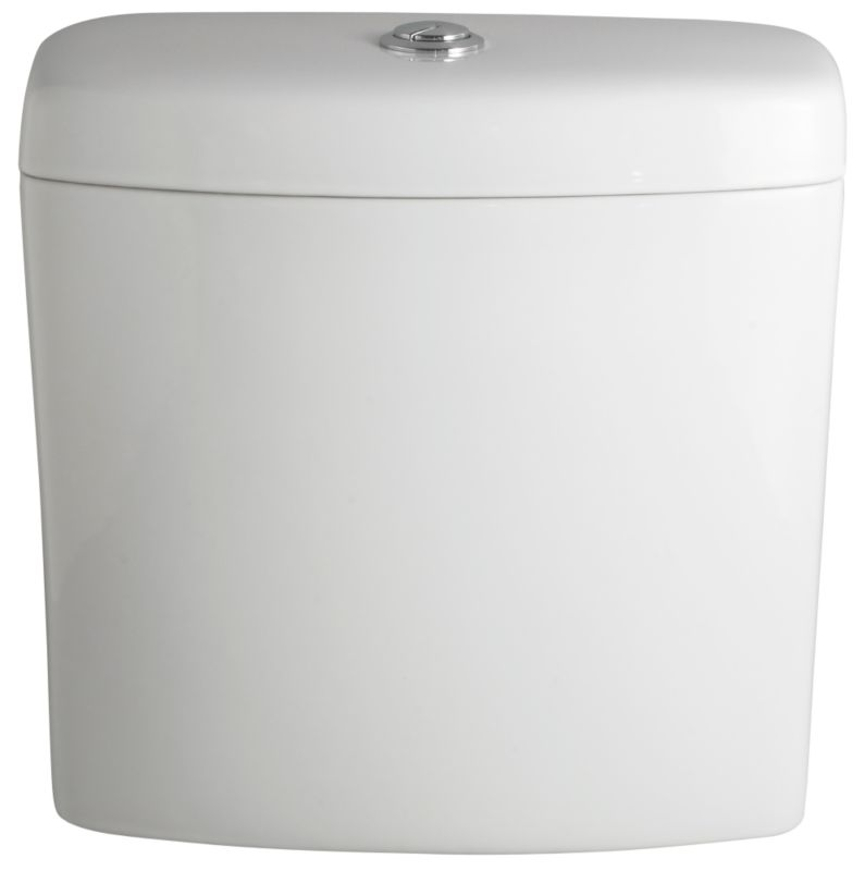 Seattle Close-Coupled Cistern White