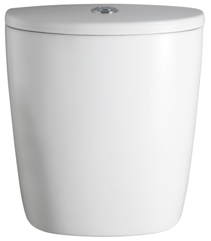 Chamonix Close-Coupled Cistern White