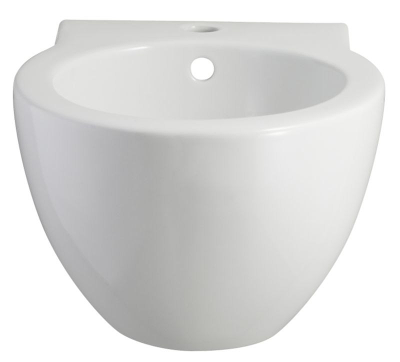 Zone Wall-Mounted Bidet White (W)370 x (L)500mm