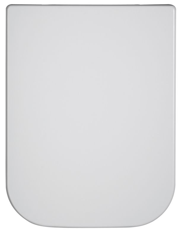 Tribeca Anti-Bacterial Toilet Seat White