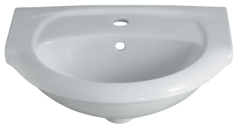 Valencia Cloakroom Basin White