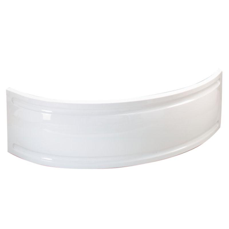 Universal Corner Bath Panel White