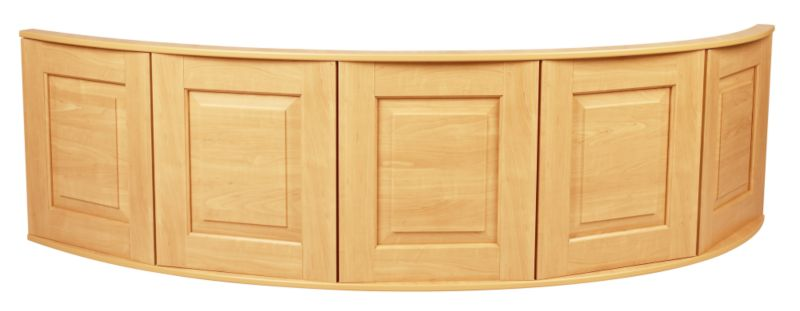 Romsey Classic Corner Bath Panel Pine Effect