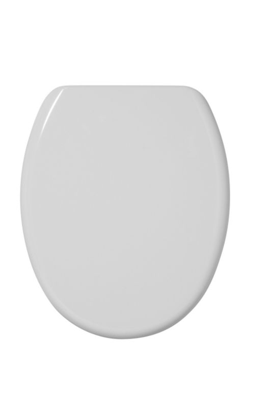 Rejuvenate Toilet Seat White/Chrome Effect