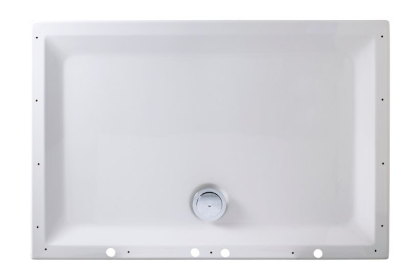 Shower Tray And Waste Kit For The Idea Hydro-Massage Shower and Steam System Quadrant