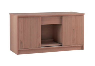 Home Office 2 door wide cupboard with