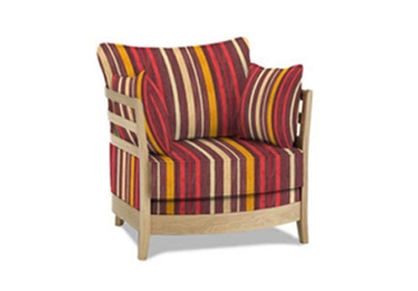 Easy low back chair (G) - Ercol Napoli - Fabric sofa & chair ranges - Furniture Village