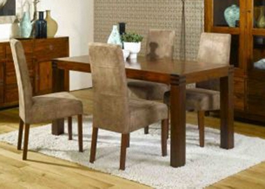 Marrakesh 180cm dining table and 4 John chairs