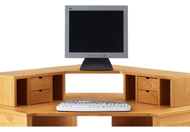 Modular Corner desk top unit