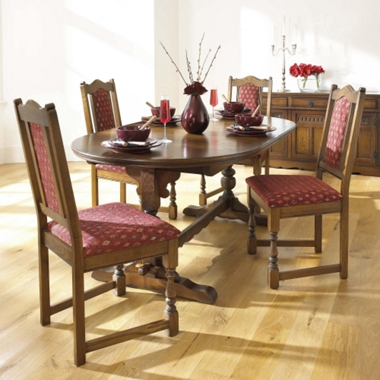 Old Charm Lancaster Extending table and 4 side chairs (Farnham)