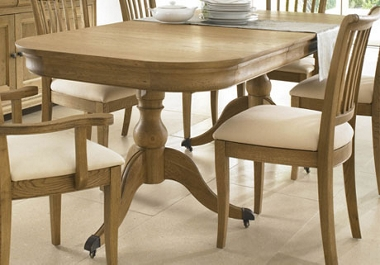 Provence Large ext table and 4 side chairs only