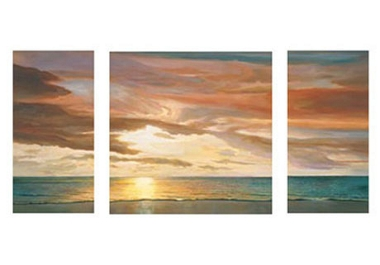 Pictures Quiet Horizon (set of 3)