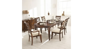 Townsend Extending table and 4 side chairs only