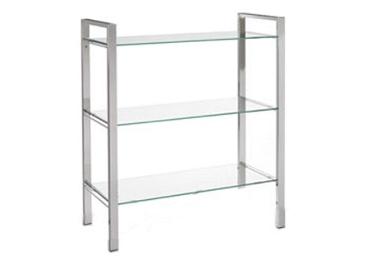 Ziva 3 shelf bookcase