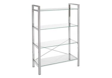 Ziva 4 shelf bookcase