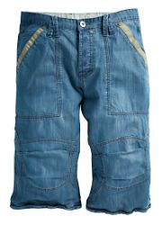 Denim Trousers - Civilian Denim Shorts