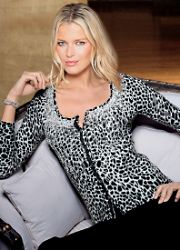 Animal Print Cardigans - Together Animal Print Cardigan