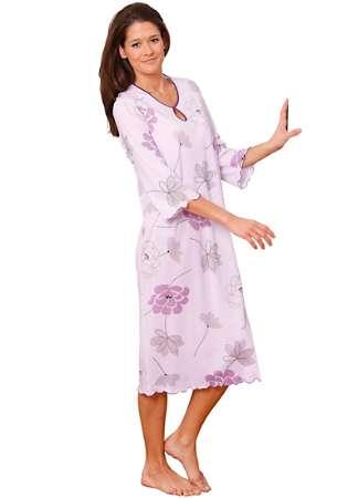 Nightwear Floral Print Nightdress