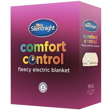 Image of Silentnight Fleece Electric Blanket