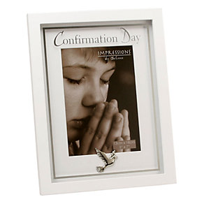 Childhood Memories White First Confirmation Frame - Product number 1005464