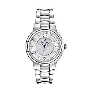 Bulova Ladies' Stainless Steel Bracelet Watch - Product number 1013017