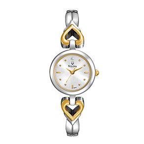 Bulova Diamond Ladies' Stainless Steel Bracelet Watch - Product number 1013041