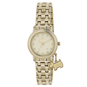 Radley Ladies' Stone Set Gold-Plated Bracelet Watch - Product number 1013459