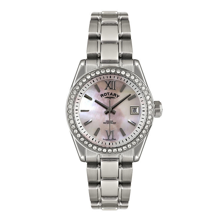 Rotary Ladies' Stainless Steel Bracelet Watch - Product number 1013572