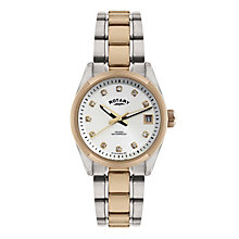 Rotary Ladies' Two Colour Bracelet Watch - Product number 1013580
